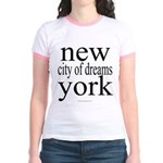 367 york city of dreams.. Jr. Ringer T-Shirt