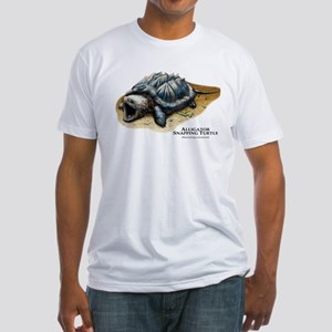 Alligator Snapping Turtle Fitted T-Shirt