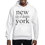 367 york city of dreams.. Hooded Sweatshirt
