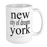 367 york city of dreams.. Large Mug