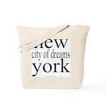 367 york city of dreams.. Tote Bag