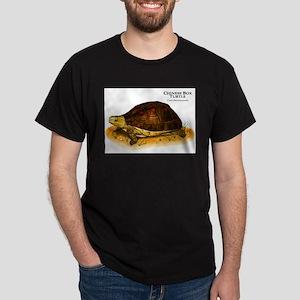 Chinese Box Turtle Dark T-Shirt
