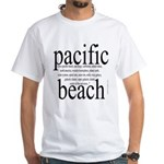 367. pacific beach White T-Shirt