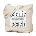 367. pacific beach Tote Bag