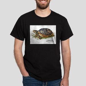 Ornate Box Turtle Dark T-Shirt