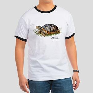 Ornate Box Turtle Ringer T