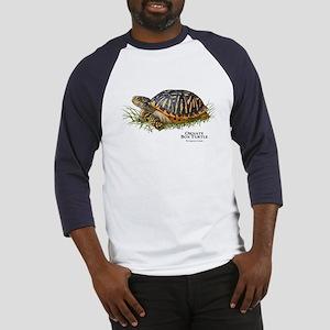 Ornate Box Turtle Baseball Jersey