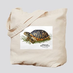 Ornate Box Turtle Tote Bag