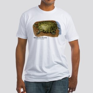 Red-Eared Slider Fitted T-Shirt
