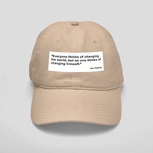 Tolstoy Change Quote Cap