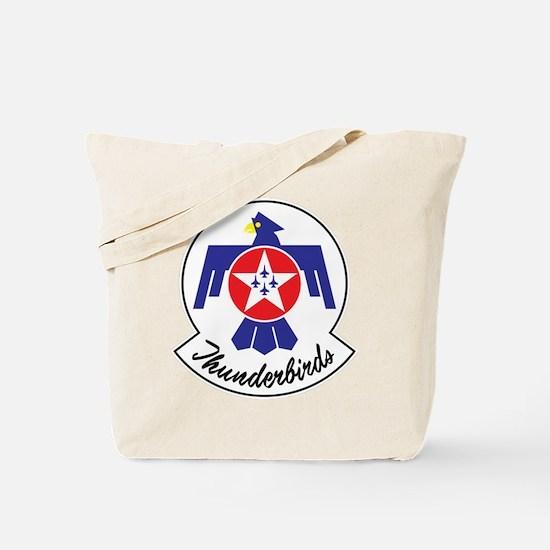 USAF Thunderbirds Emblem Tote Bag