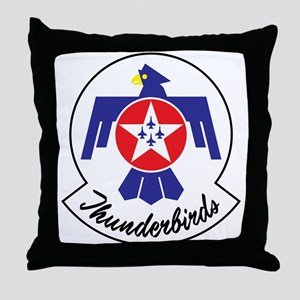 USAF Thunderbirds Emblem Throw Pillow