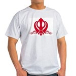 Khanda [Jaguars] Ash Grey T-Shirt