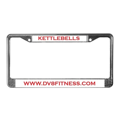 KETTLEBELL License Plate Frame