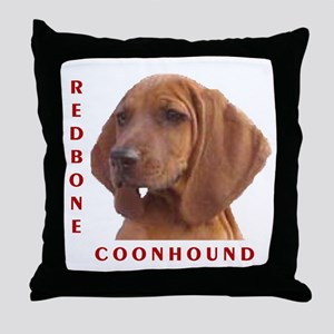 Redbones Throw Pillow