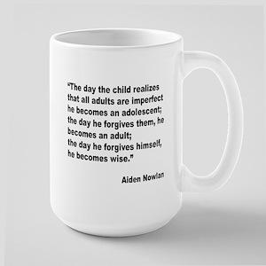 Adult Forgiveness Quote Large Mug