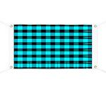 Blue Optical Illusion Banner