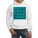 Blue Optical Illusion Hooded Sweatshirt
