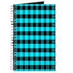 Blue Optical Illusion Journal