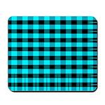 Blue Optical Illusion Mousepad