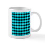 Blue Optical Illusion Mug