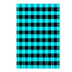 Blue Optical Illusion Postcards (Package of 8)