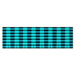 Blue Optical Illusion Bumper Sticker (50 pk)