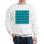 Blue Optical Illusion Sweatshirt