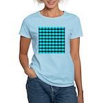 Blue Optical Illusion Women's Light T-Shirt