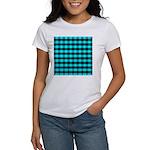Blue Optical Illusion Women's T-Shirt