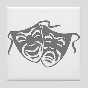 Comedy or Tragedy 7 Tile Coaster