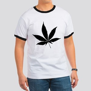 Marijuana Leaf Ringer T