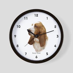 Basset Hound 9J055D-15 Wall Clock