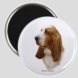Basset Hound 9J055D-15 Magnet