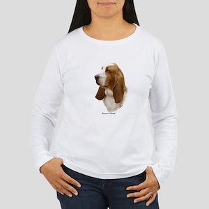 Basset Hound 9J055D-15 Women's Long Sleeve T-Shirt