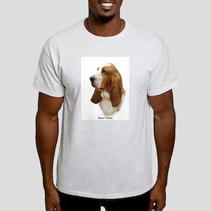 Basset Hound 9J055D-15 Light T-Shirt