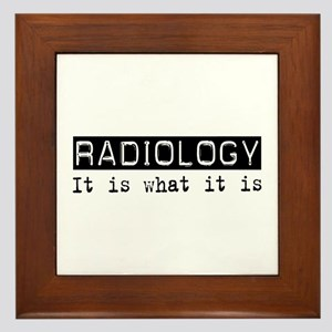 Radiology Is Framed Tile