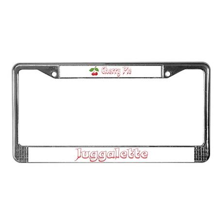 Juggalette License Plate Frame