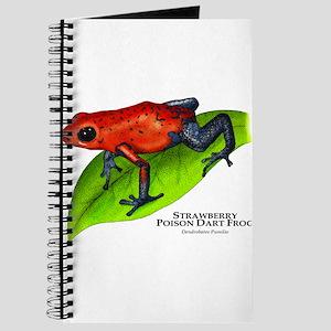 Strawberry Poison Dart Frog Journal