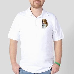 Australian Shepherd 9K4D-16 Golf Shirt