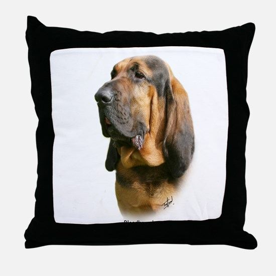 Bloodhound 9Y404D-135 Throw Pillow