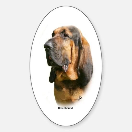 Bloodhound 9Y404D-135 Sticker (Oval)