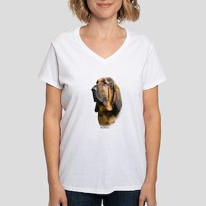 Bloodhound 9Y404D-135 Women's V-Neck T-Shirt