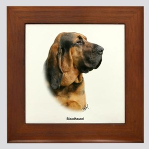 Bloodhound 9Y404D-124 Framed Tile