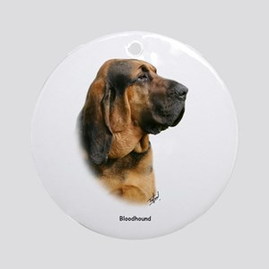 Bloodhound 9Y404D-124 Ornament (Round)