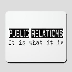 Public Relations Is Mousepad