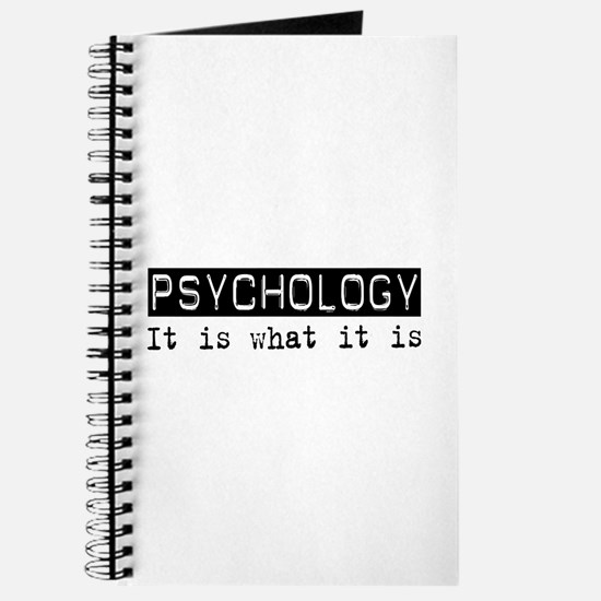 Psychology Is Journal