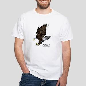 American Bald Eagle White T-Shirt