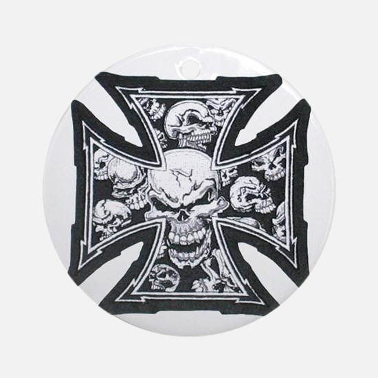 Iron Skulls Ornament (Round)