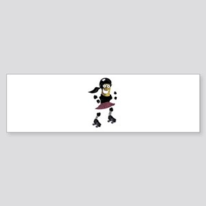 Roller Derby Pickle Sticker (Bumper)